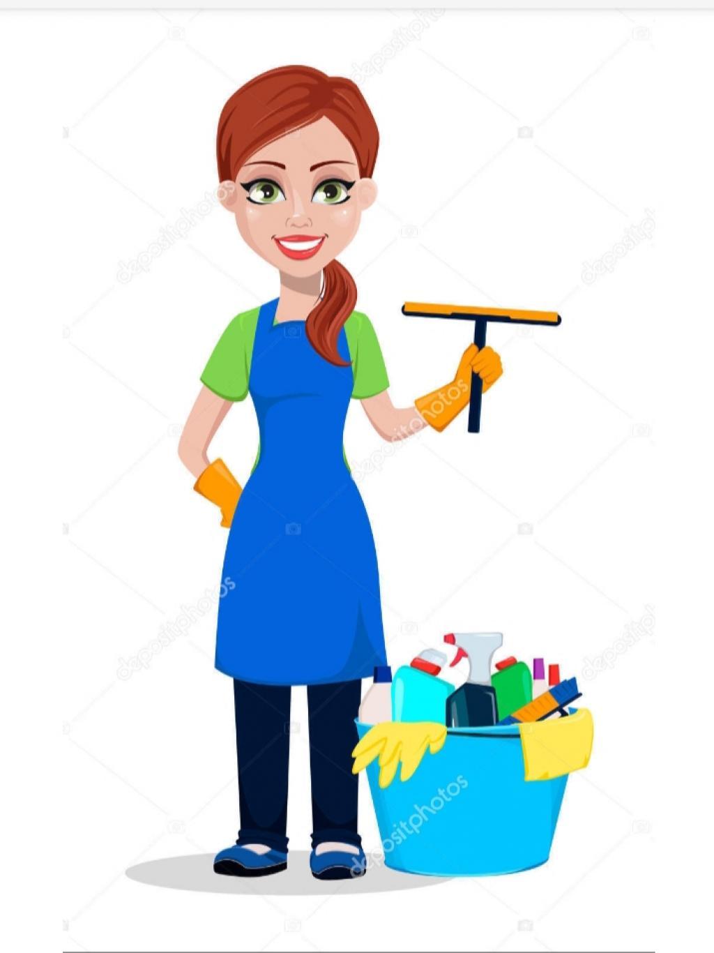 Cleaning lady/ femme de ménage/ limpiadora